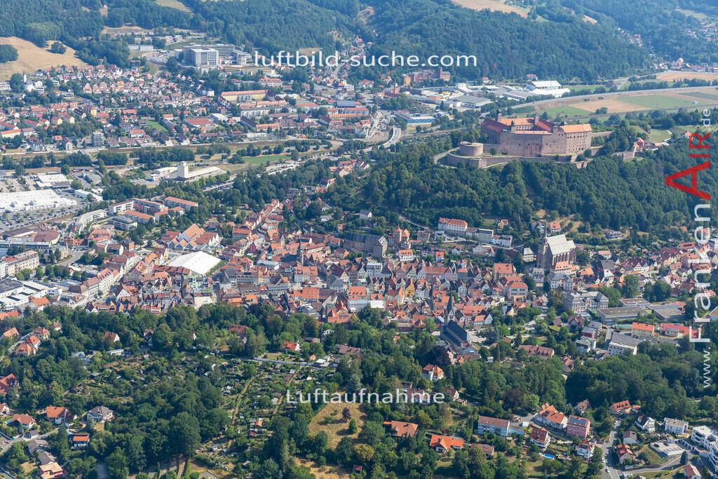 altstadt-kulmbach-19-671 | aktuelles Luftbild von Altstadt  Kulmbach - Luftaufnahme wurde 2019 von https://frankenair.de mittels Flugzeug (keine Drohne) erstellt.