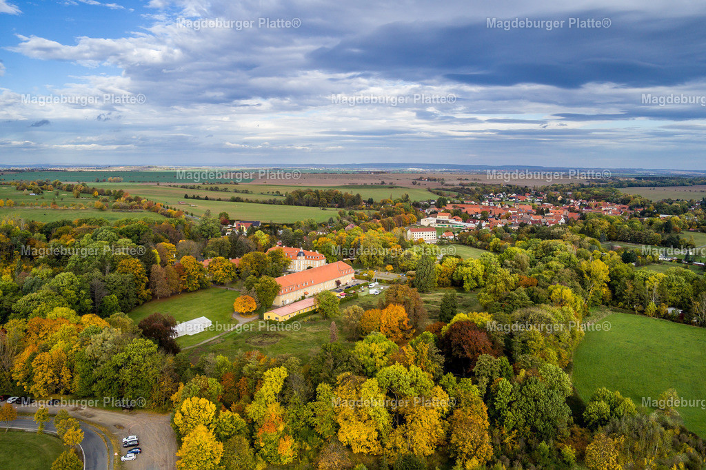 Harz im Herbst-Meisdorf-0007   Luftbilder aus der Vogelperspektive von Landkreis HARZ mit Drohne oder von oben fotografiert für die Bilddatenbank der Luftbildfotografie von Sachsen - Anhalt.