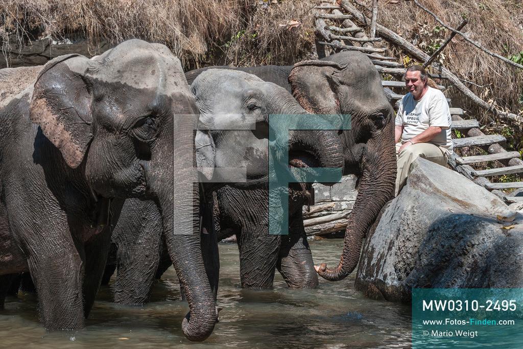 MW0310-2495 | Thailand | Mae Sapok | Bodo Jens Förster | Elephant Special Tours | Februar 2010  ** Feindaten bitte anfragen bei Mario Weigt Photography, info@asia-stories.com **