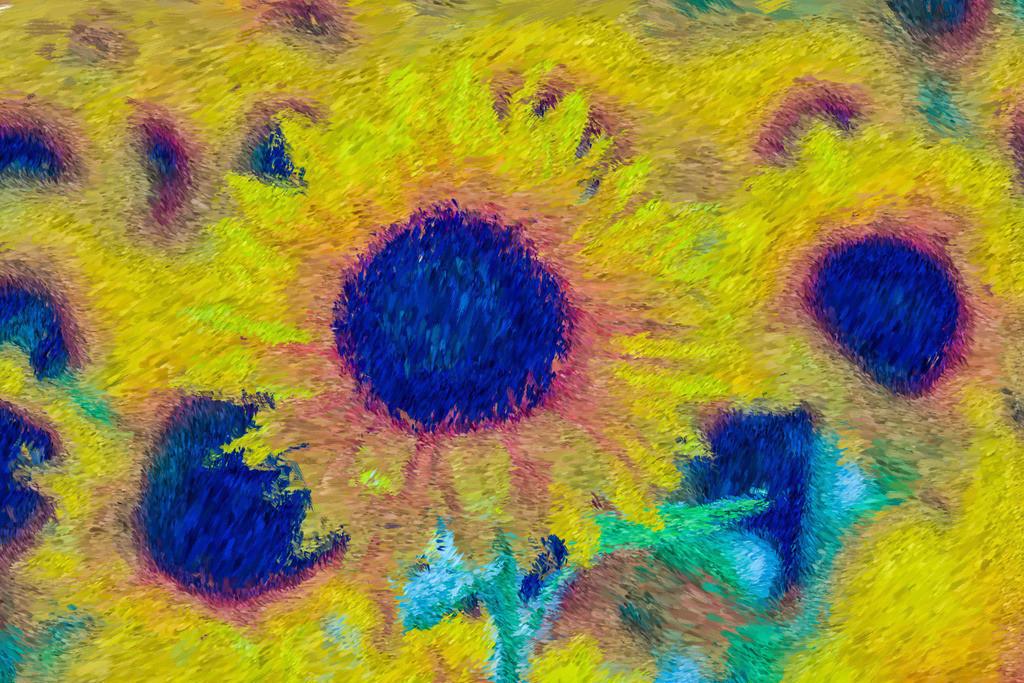 Sonnenblumen   Fotografie trifft auf Digital Painting, moderne Malerei - Mixed Media. Die Entstehung dieser Kunstserie erfolgt über Fotografie und digital Painting. Die digitale Vorgehensweise ermöglicht es mir Kunstwerke zu erschaffen die mit konventioneller Herangehensweise nicht zu realisieren sind.