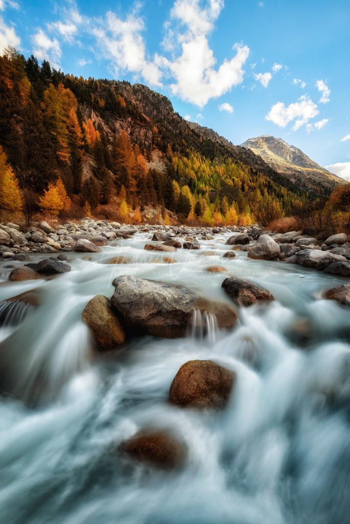 Herbststimmung im Engadin
