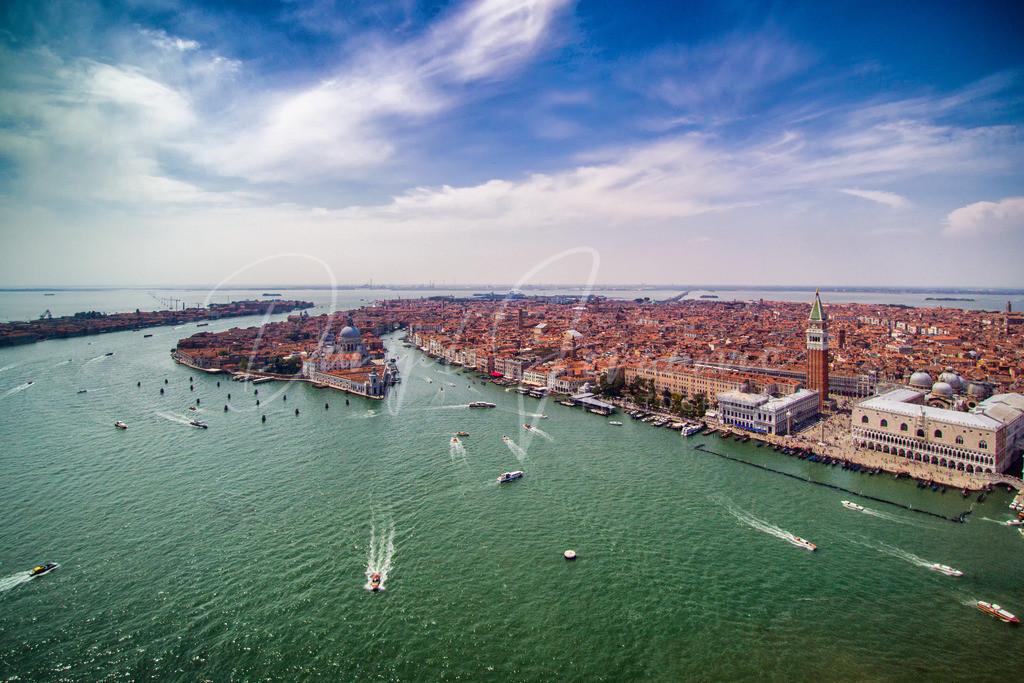 Venedig | Das malerische Venedig mit Blick Richtung Markusplatz