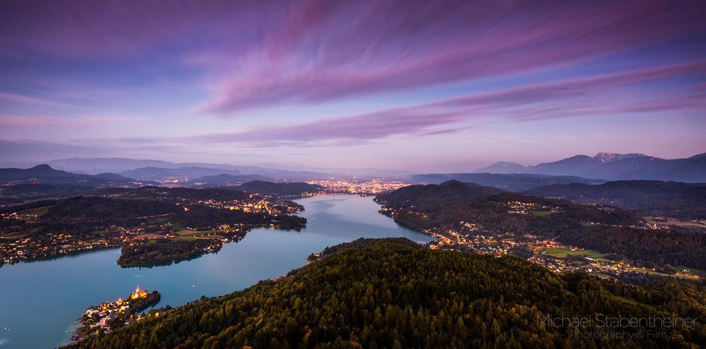 Wörthersee in Kärnten | Aufnahme vom Pyramidenkogel in Kärnten / Österreich