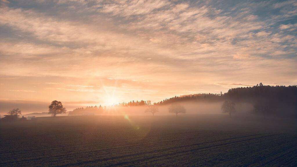 Sonnenaufgang Tuttwil