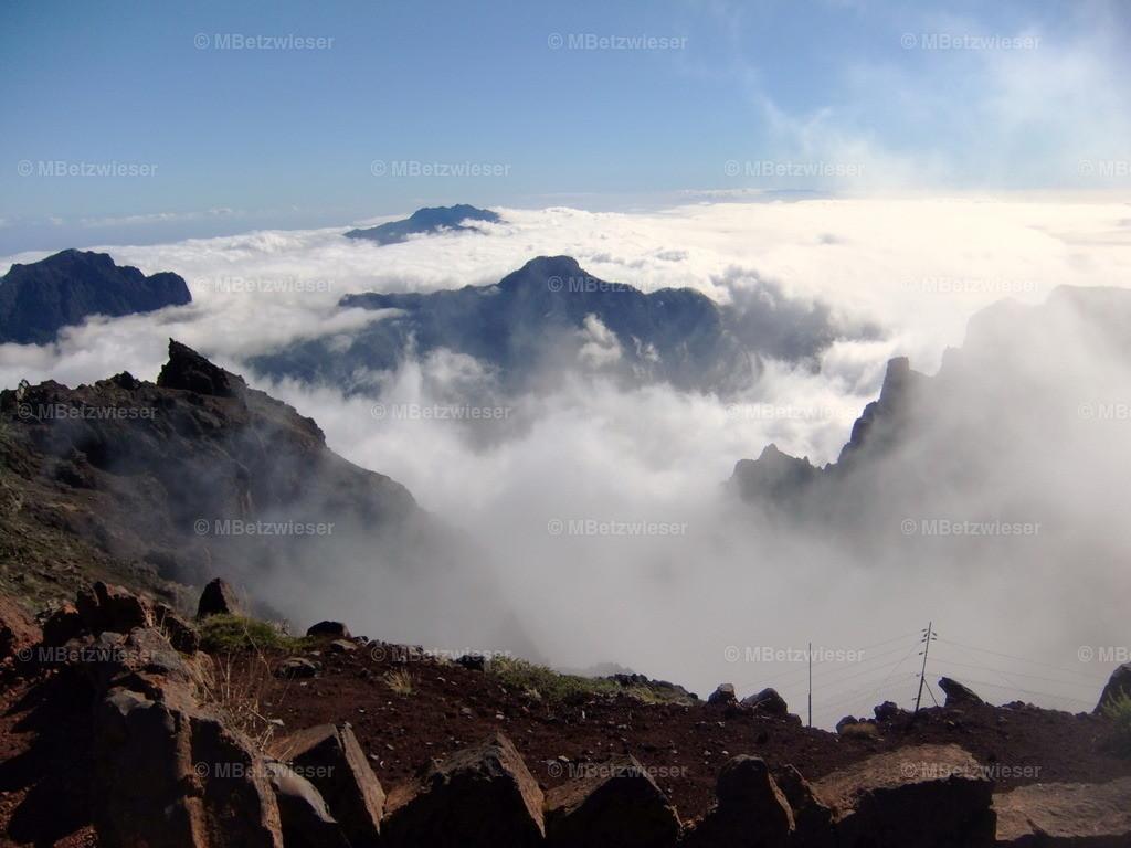 DSCF9010 | La Palma liegt unter den Passat-Wolken