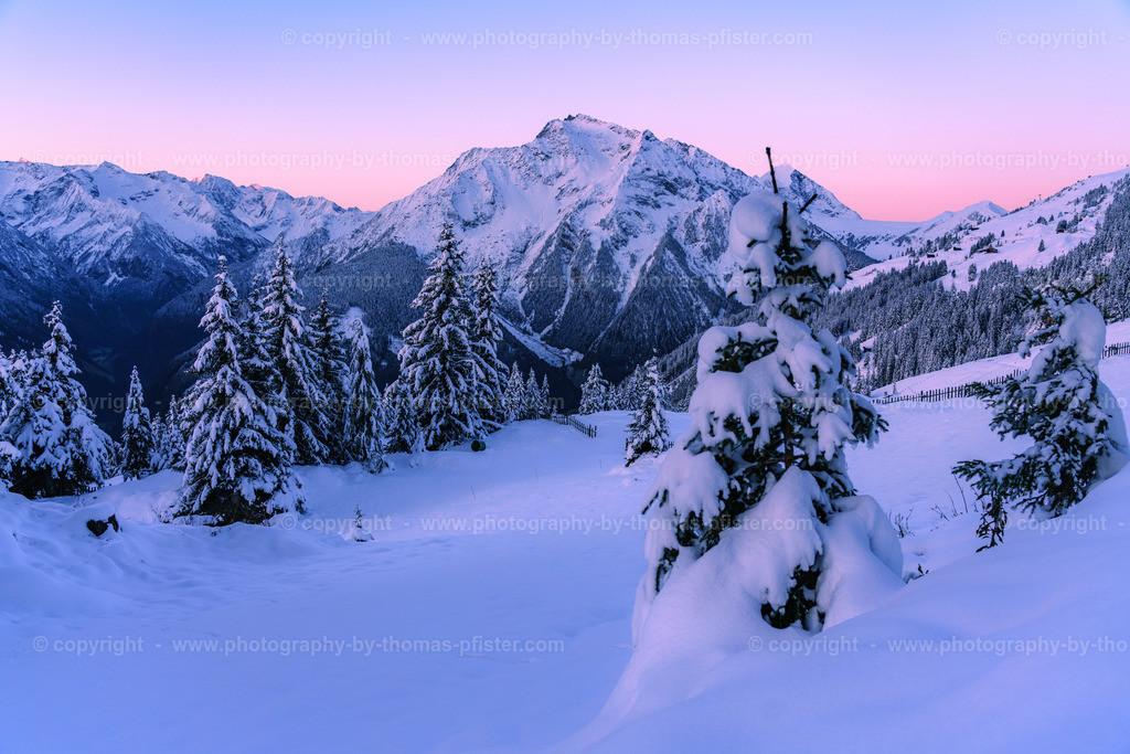 Winter am Penken morgens-3