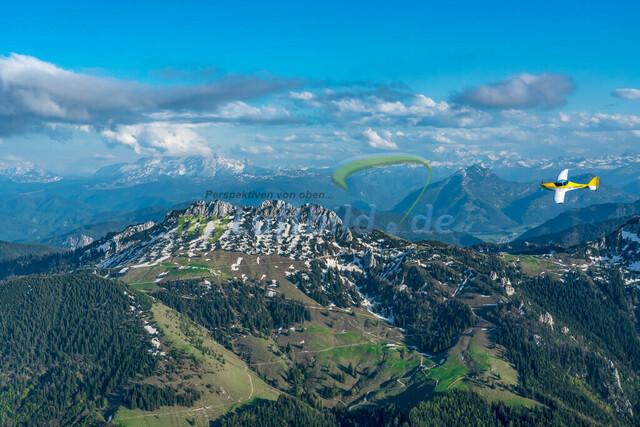 luftbild-kampenwand-bruno-kapeller-01 | Luftaufnahme von der Kampenwand 1669m