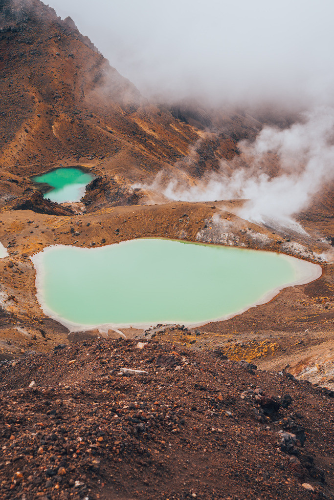 Emerald See im Tongariro Nationalpark | Emerald See im Tongariro Nationalpark