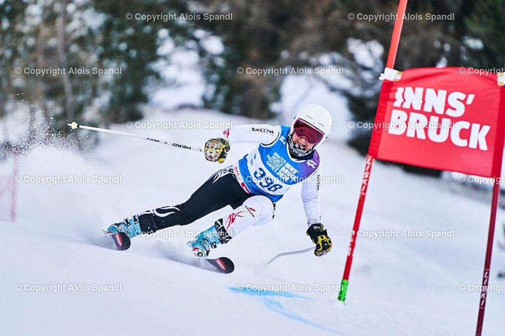 ALS5674_WWMG_GS-II_C | (C) FotoLois.com, Alois Spandl, WinterWorldMastersGames 2020 Innsbruck, Giant Slalom-II Gruppe C Damen, Patscherkofel Olympiaabfahrt, Mi 15. Jänner 2020.