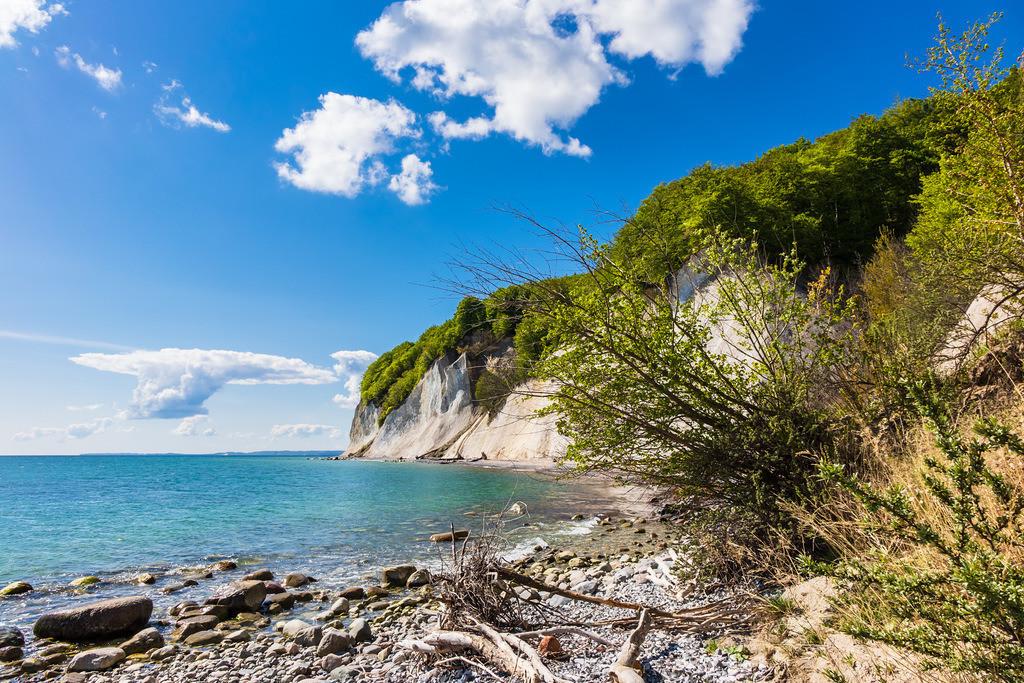 An der Küste der Ostsee auf der Insel Rügen | An der Küste der Ostsee auf der Insel Rügen.