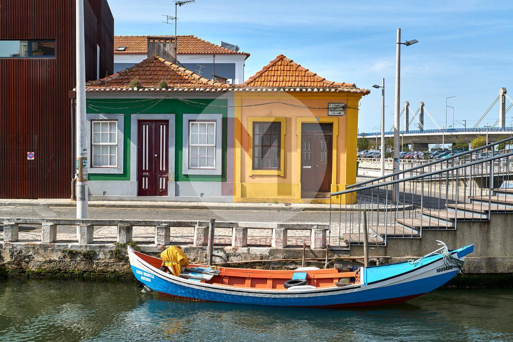 Die Stadt Aveiro in Portugal