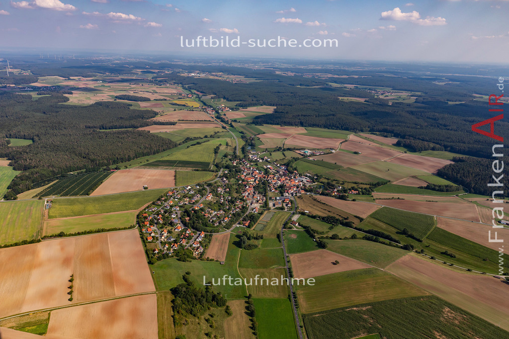 markt-taschendorf-19-815   aktuelles Luftbild von Markt  Taschendorf - Luftaufnahme wurde 2019 von https://frankenair.de mittels Flugzeug (keine Drohne) erstellt.