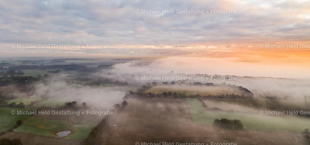 Dezember-Nebel | Frühnebel über dem Selenter See bei Fargau