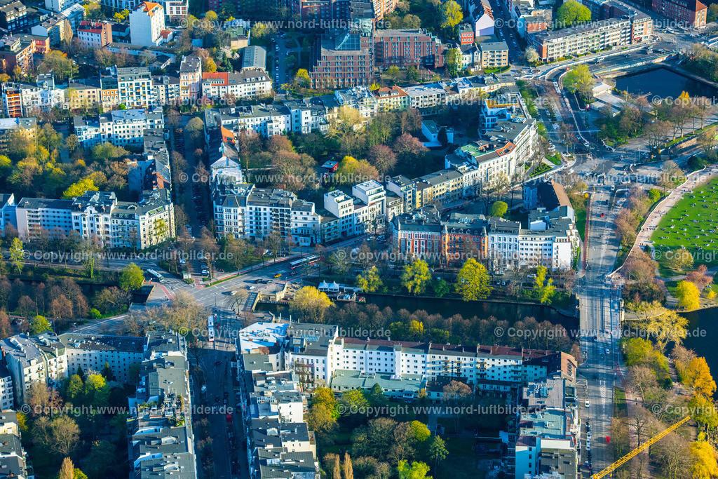 Hamburg_Uhlenhorst_Schwanenwiek_ELS_4950200421 | HAMBURG 20.04.2021 Wohngebiet