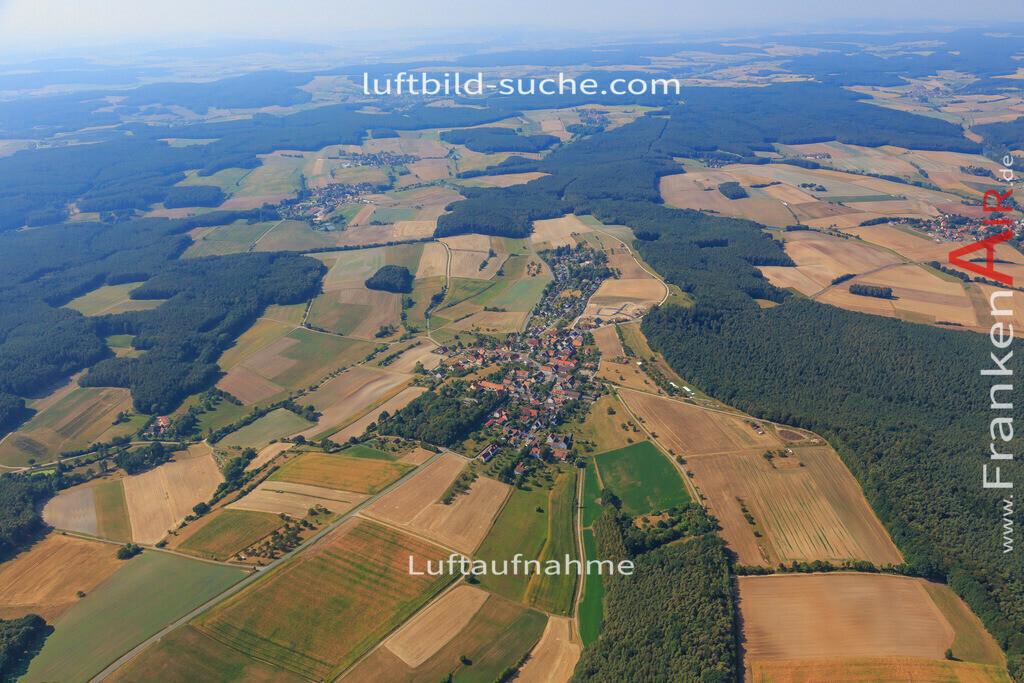 rauschenberg-dachsbach-2016-201 | Luftbild von Rauschenberg Dachsbach - Luftaufnahme wurde 2016 von https://frankenair.de mittels Flugzeug (keine Drohne) erstellt - die Geschenkidee