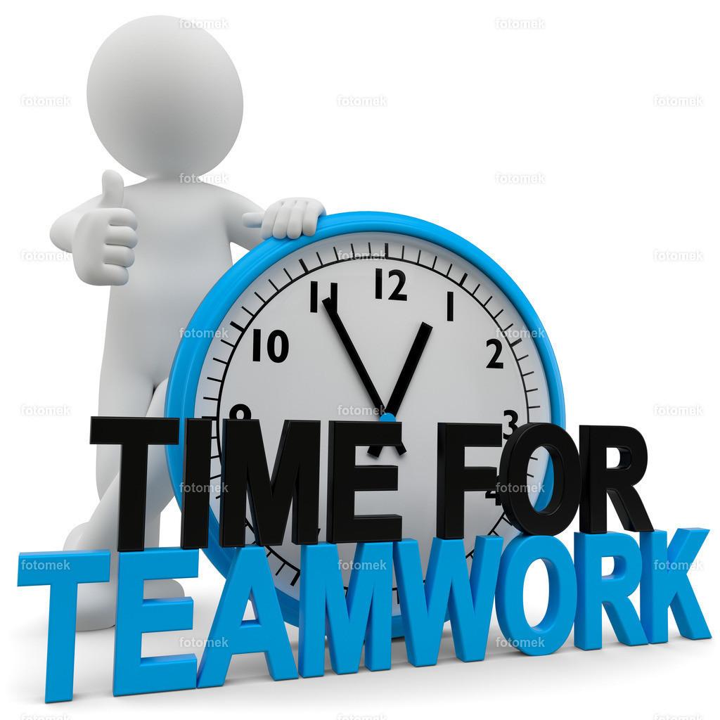 3d Männchen Time for teamwork | 3d Männchen Time for teamwork