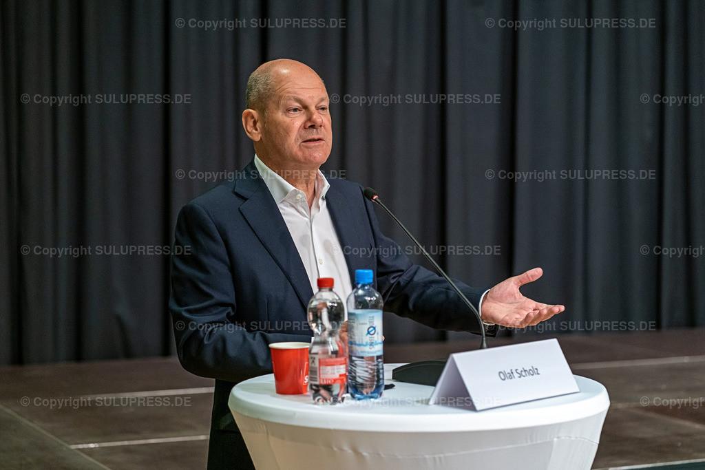 SPD Kandidaten WK61_2020_09_22-04935   22.09.2020, Teltow, Brandenburg, Bundesfinanzminister und SPD Kanzlerkandidat bei einer Rede im Ernst-von-Stubenrauch-Saal im Teltower