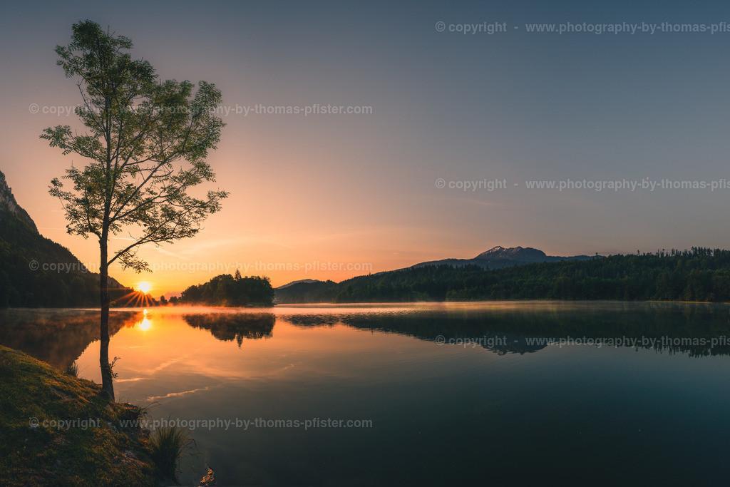 Reintaler See Sonnenaufgang-2