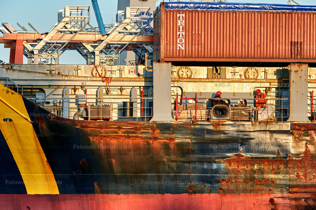 10190501 - Containerschiff Detail