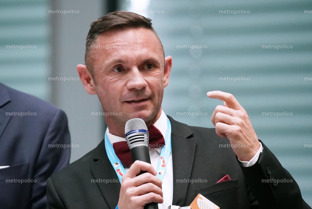 David Berger am Mikrofon (2)