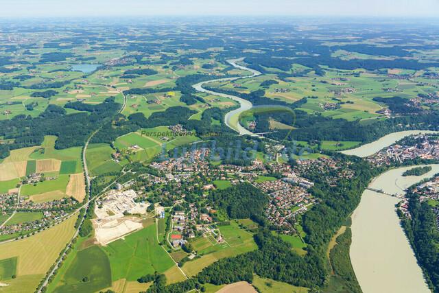 luftbild-wasserburg am inn-bruno-kapeller-06   Luftaufnahme von Wasserburg am Inn im Sommer 2019