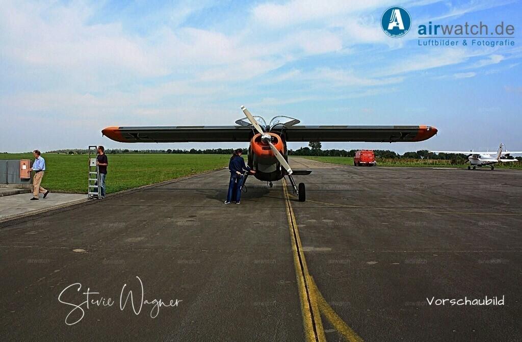 Flughafen Husum, Dornier Do 27 | Flughafen Husum, Dornier Do 27 • max. 4272 x 2848 pix