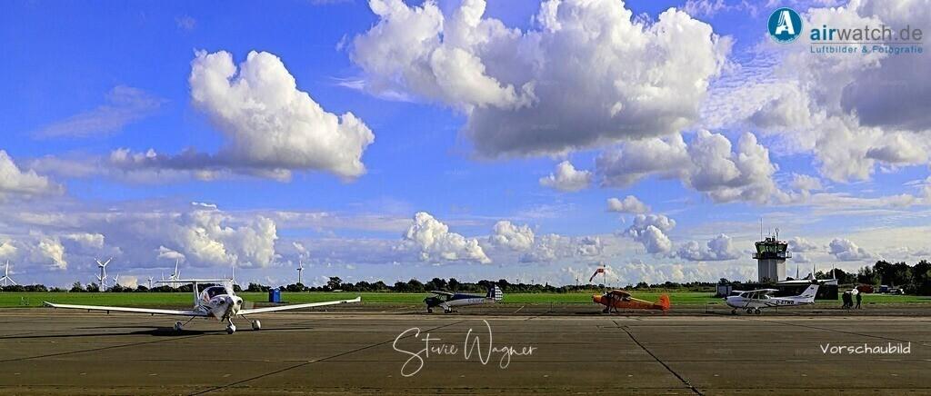 Flughafen Husum, DA 40, Elster-B, Piper L 18, Cessna 172 | Flughafen Husum, DA 40, Elster-B, Piper L 18, Cessna 172 • max. 6240 x 4160 pix