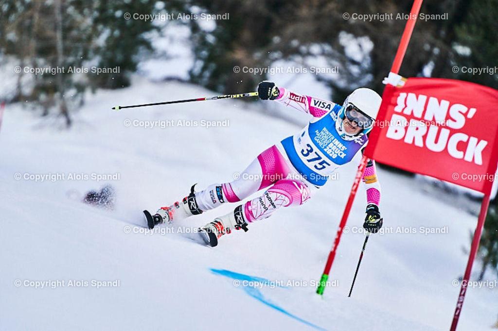 ALS5542_WWMG_GS-II_C | (C) FotoLois.com, Alois Spandl, WinterWorldMastersGames 2020 Innsbruck, Giant Slalom-II Gruppe C Damen, Patscherkofel Olympiaabfahrt, Mi 15. Jänner 2020.