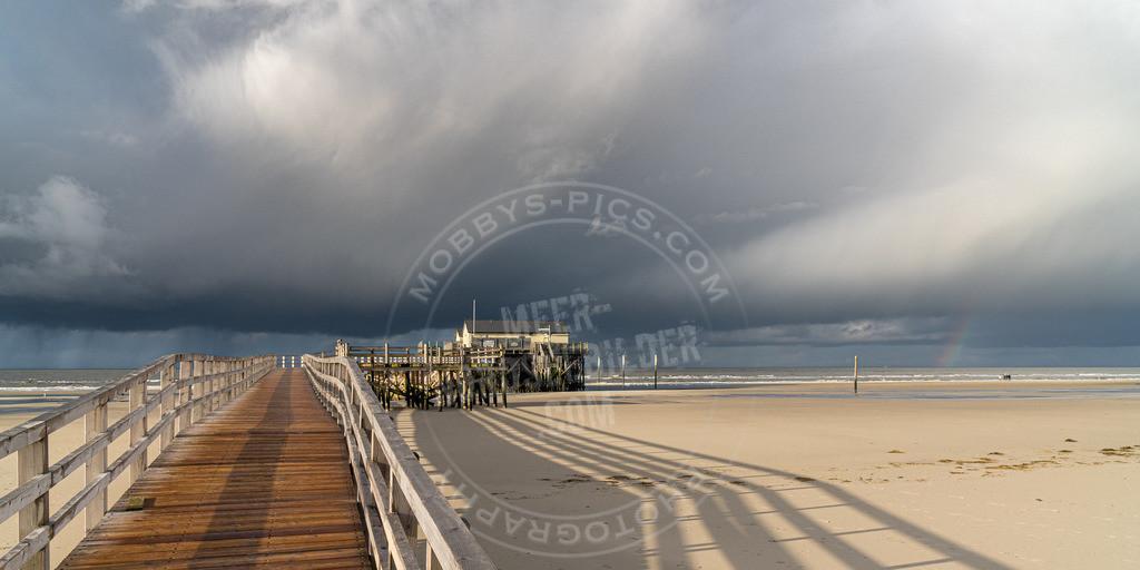 _MOB7769 | Regenbogen über der Nordsee