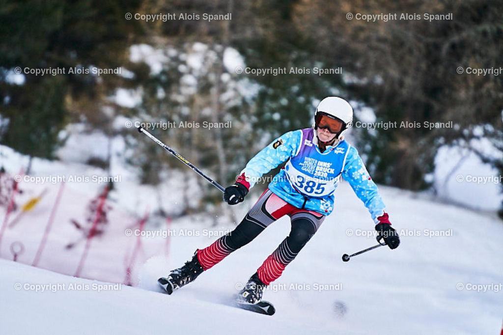 ALS5607_WWMG_GS-II_C | (C) FotoLois.com, Alois Spandl, WinterWorldMastersGames 2020 Innsbruck, Giant Slalom-II Gruppe C Damen, Patscherkofel Olympiaabfahrt, Mi 15. Jänner 2020.