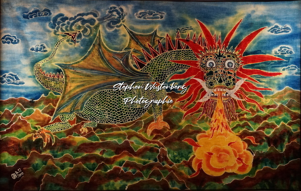 Drache   Roland Gingel Artwork @ Gravity Boulderhalle, Horst und Margit Heieck, Bad Kreuznach