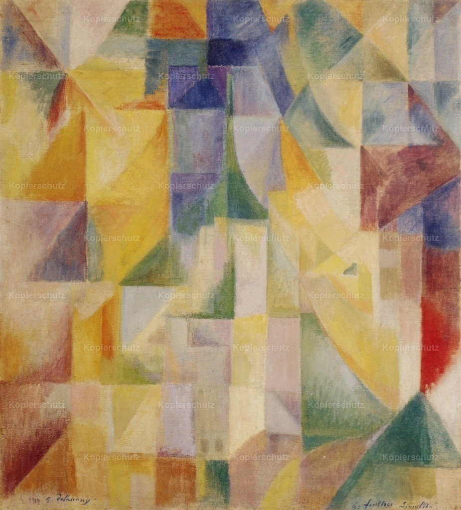Delaunay_ Robert (1885-1941) - The Windows 1912