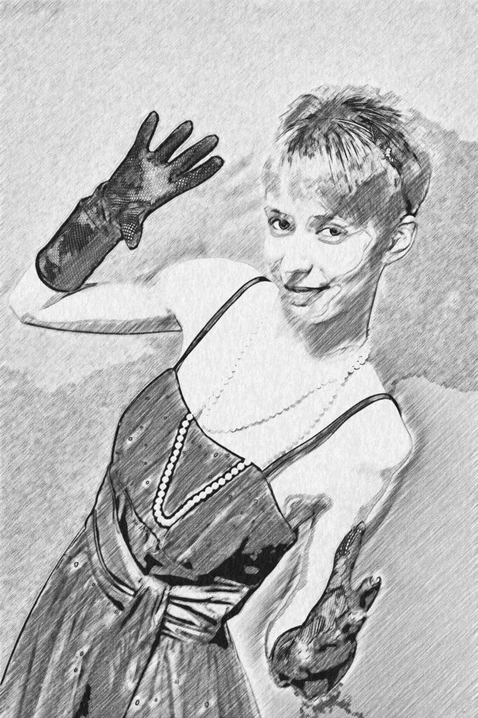 Handschuh Lady Bild 007