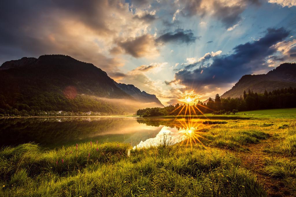 Weitsee Sonnenaufgang