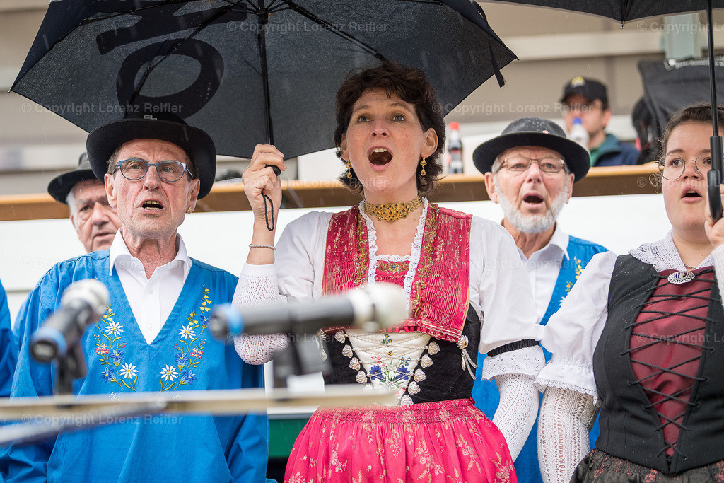Schwingen -  Glarner-Bündner Kantonal 2019 | Glarus, 10.6.19, Schwingen - Glarner-Bündner Kantonal. (Lorenz Reifler)