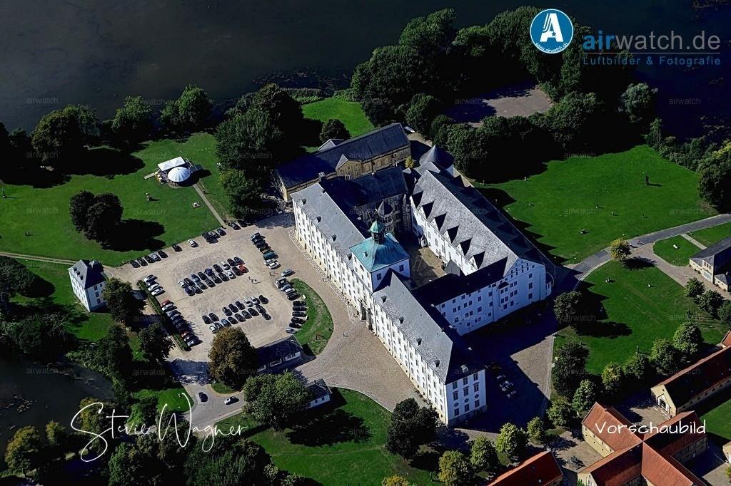 Luftbild Schleswig, Schlei, Schloss Gottorf, Burgsee   Luftbild Schleswig, Schlei, Schloss Gottorf, Burgsee • max. 6240 x 4160 pix