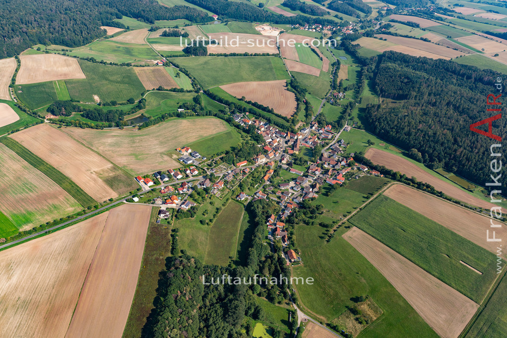 kornhoefstadt-19-771 | aktuelles Luftbild von  Kornhoefstadt - Luftaufnahme wurde 2019 von https://frankenair.de mittels Flugzeug (keine Drohne) erstellt.