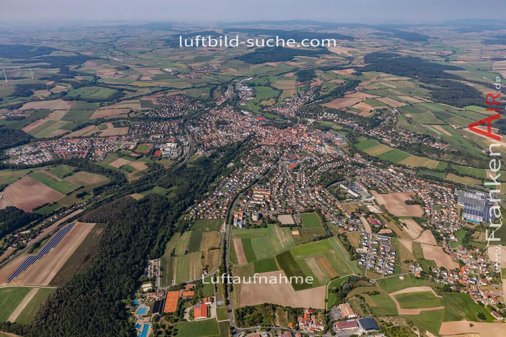 neustadt-aisch-19-307 | aktuelles Luftbild von  Neustadt-aisch - Luftaufnahme wurde 2019 von https://frankenair.de mittels Flugzeug (keine Drohne) erstellt.