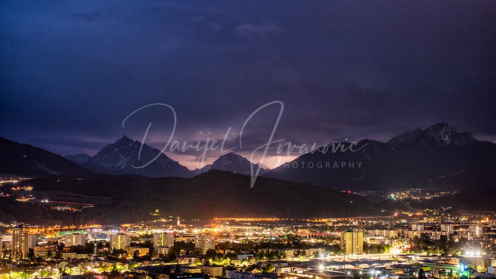 Serles | Gewitter im Süden von Innsbruck