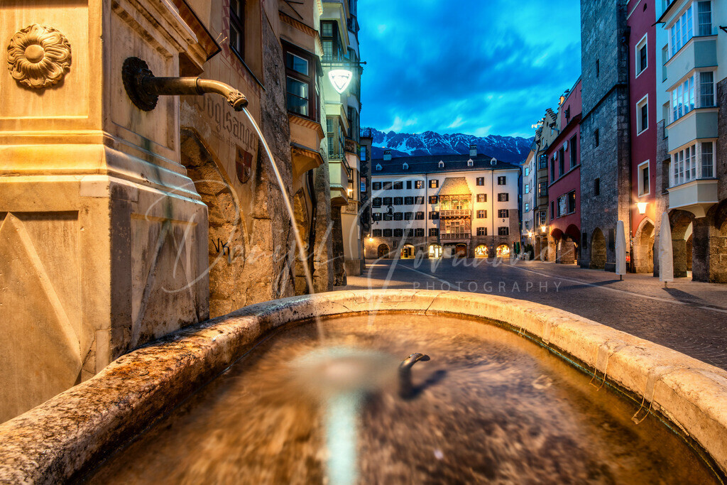 Altstadt | Die Innsbrucker Altstadt am Abend