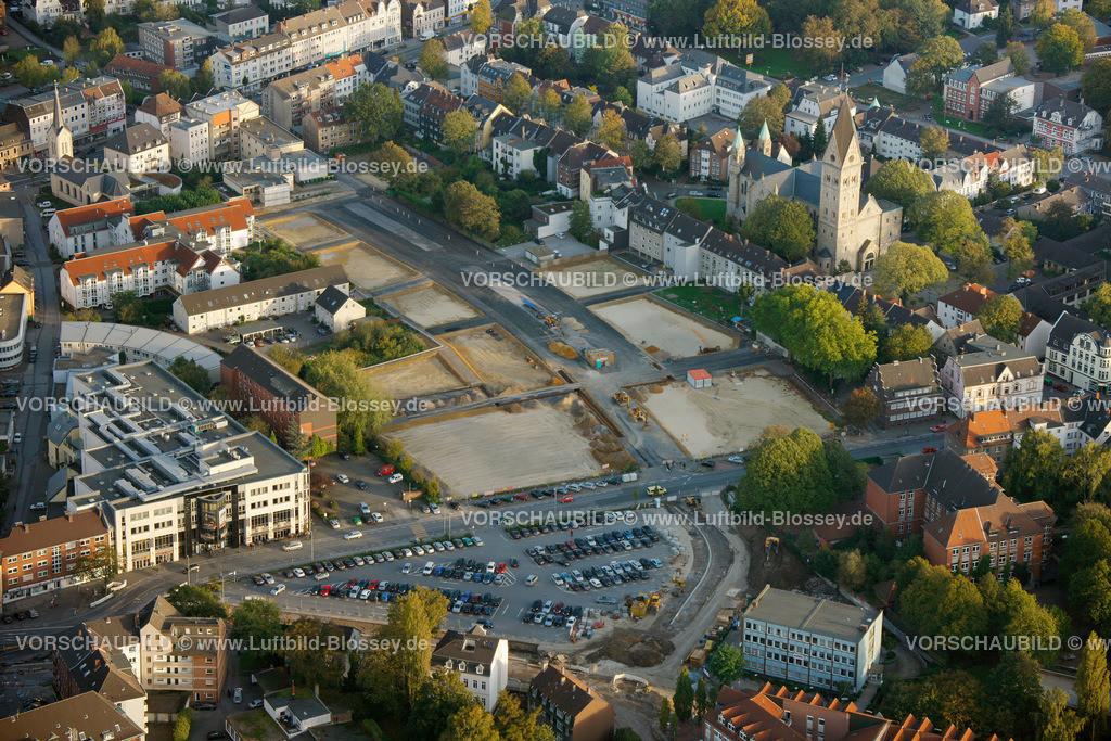RE11101626 | Paulusanger  ehemaliger Standort der Kemnaschule,  Recklinghausen, Ruhrgebiet, Nordrhein-Westfalen, Deutschland, Europa