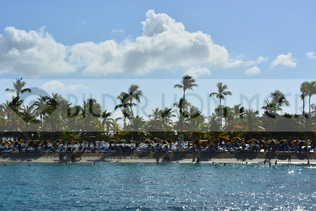 Strand Bilder | Bilder vom Strand Catalina in der Karibik