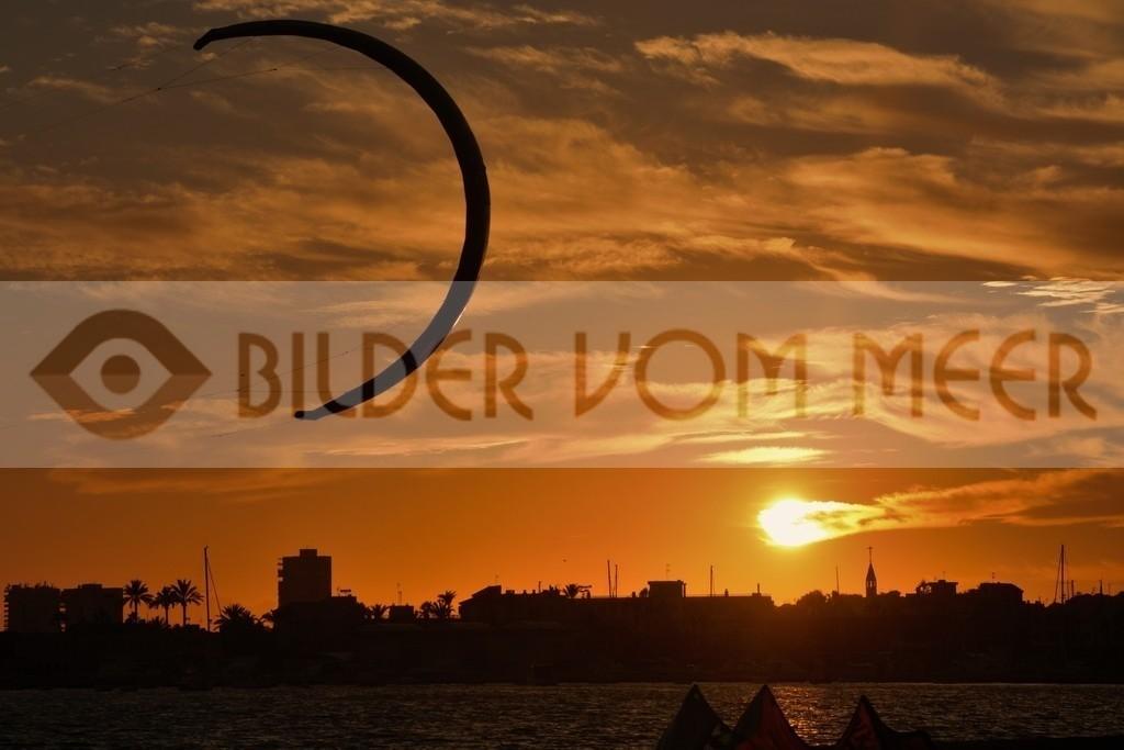 Fotoausstellung Bilder vom Meer | Kitesurfen Bilder San Pedro del Pinatar, Spanien