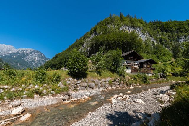 Kleiner Bach in Österreich