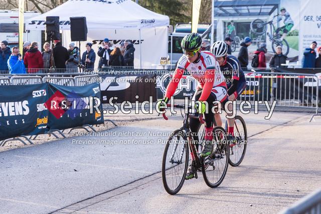 Radsport, Stevens Cyclocross Cup 2019, 10. Lauf (RSG Nordheide), Rennen 9 (Elite Herren + U23, Masters 2 / Elite Ü40 und Junioren U19), Buchholz i.d.N., 19.01.2020 | Sönke Liedtke (Radsportteam Neumünster, #48, Elite)