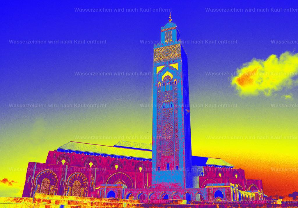 Hassan - II - Moschee | Marokko, Marrakesch, Photokunst, Kunstwerk, Casablanca, wallpaper, art