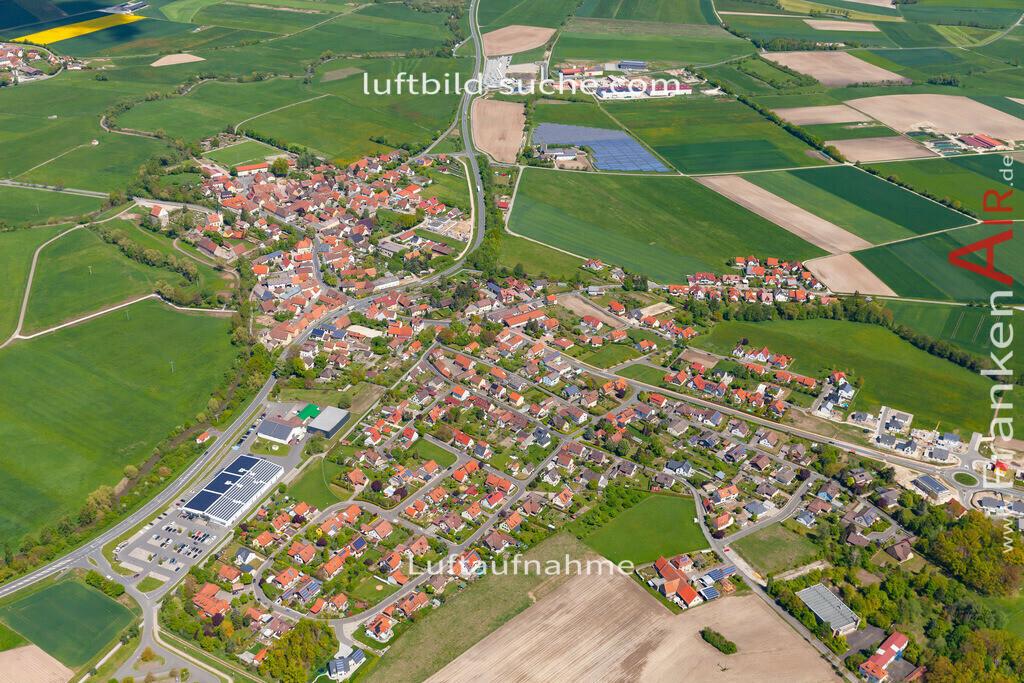 dachsbach-19-199 | aktuelles Luftbild von  Dachsbach  - Luftaufnahme wurde 2019 von https://frankenair.de mittels Flugzeug (keine Drohne) erstellt.