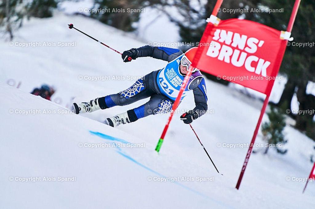 ALS5788_WWMG_GS-II_C | (C) FotoLois.com, Alois Spandl, WinterWorldMastersGames 2020 Innsbruck, Giant Slalom-II Gruppe C Damen, Patscherkofel Olympiaabfahrt, Mi 15. Jänner 2020.