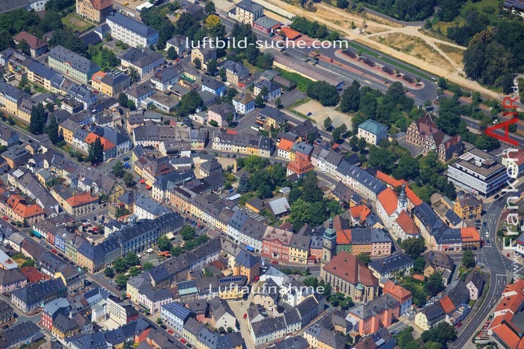 wunsiedel-2014-100   Luftbild von  Wunsiedel - Luftaufnahme wurde 2014 von https://frankenair.de mittels Flugzeug (keine Drohne) erstellt - die Geschenkidee
