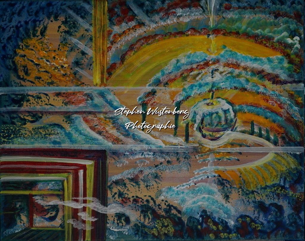 Gingel-0115 Farbenspiel | Roland Gingel Artwork @ Gravity Boulderhalle, Bad Kreuznach  Bilder dieser Galerie sind noch nicht im Verkauf. Wenn Sie Repros erwerben möchten, finden Sie diese in der Untergalerie